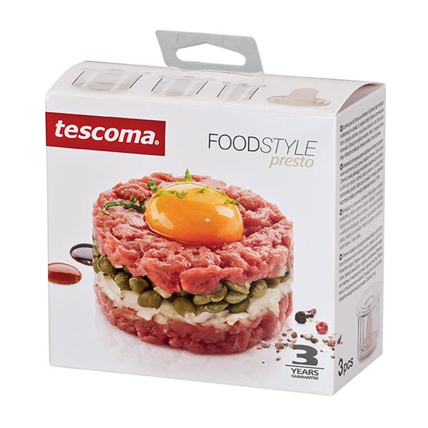 К-т ринг за оформяне  Tescoma Presto, 3бр.
