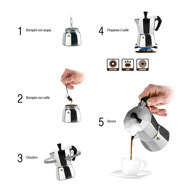 Кафеварка Tescoma Paloma, 9 чаши