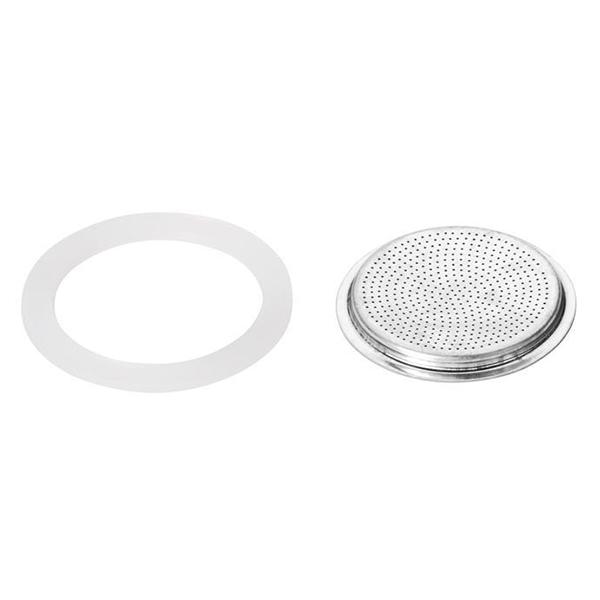 Силиконово уплътнение и филтър за кафеварка Paloma 6