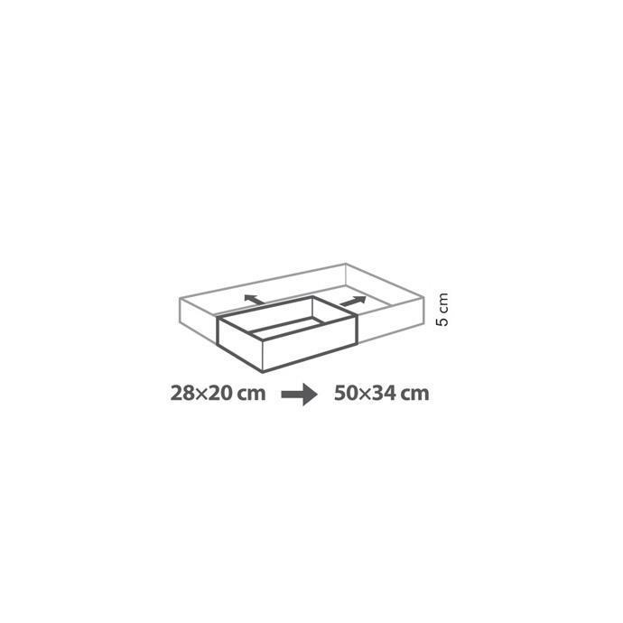 Правоъгълна форма за печене Tescoma Delicia 28х20- 50х34 см