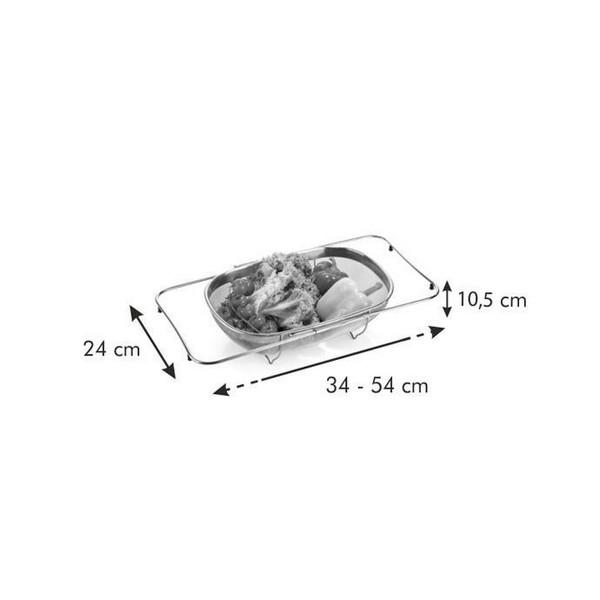 Разтегателна кошница за отцеждане Tescoma Grandchef 34x24 cm