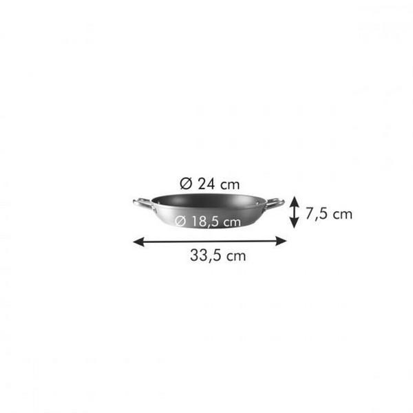 Дълбок тиган с дръжки Tescoma Grandchef 24 cm