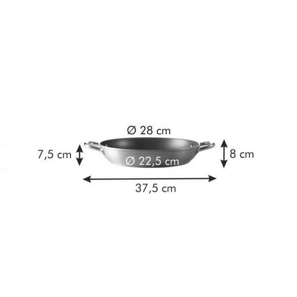 Дълбок тиган с дръжки Tescoma Grandchef 28 cm