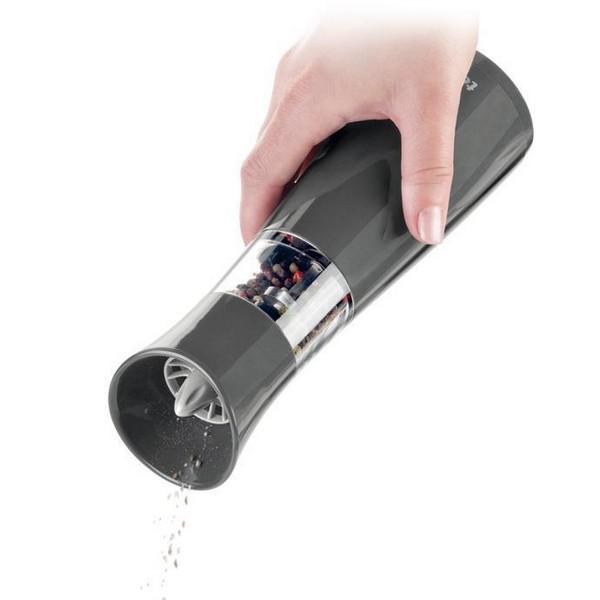 Електрическа мелничка за сол Tescoma Vitamino, черна