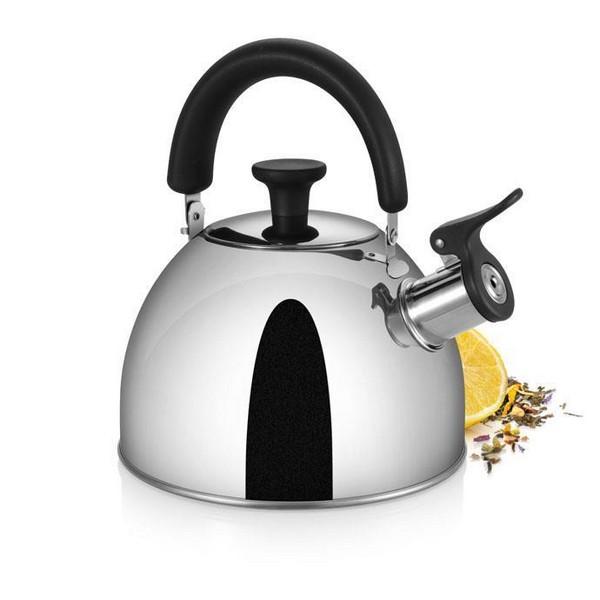 Чайник Tescoma Bollitori 1,5L, метален, свирещ