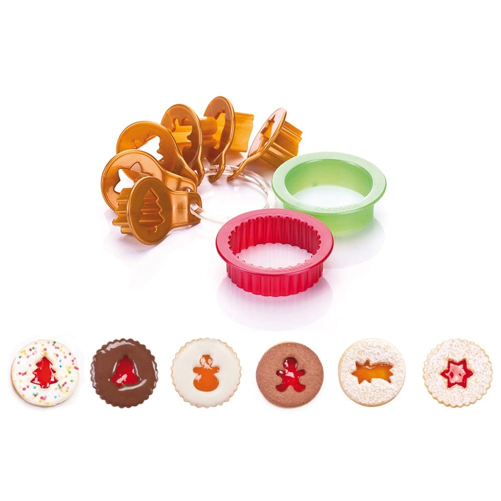 Коледни форми за сладки Tescoma Delicia, 8 броя