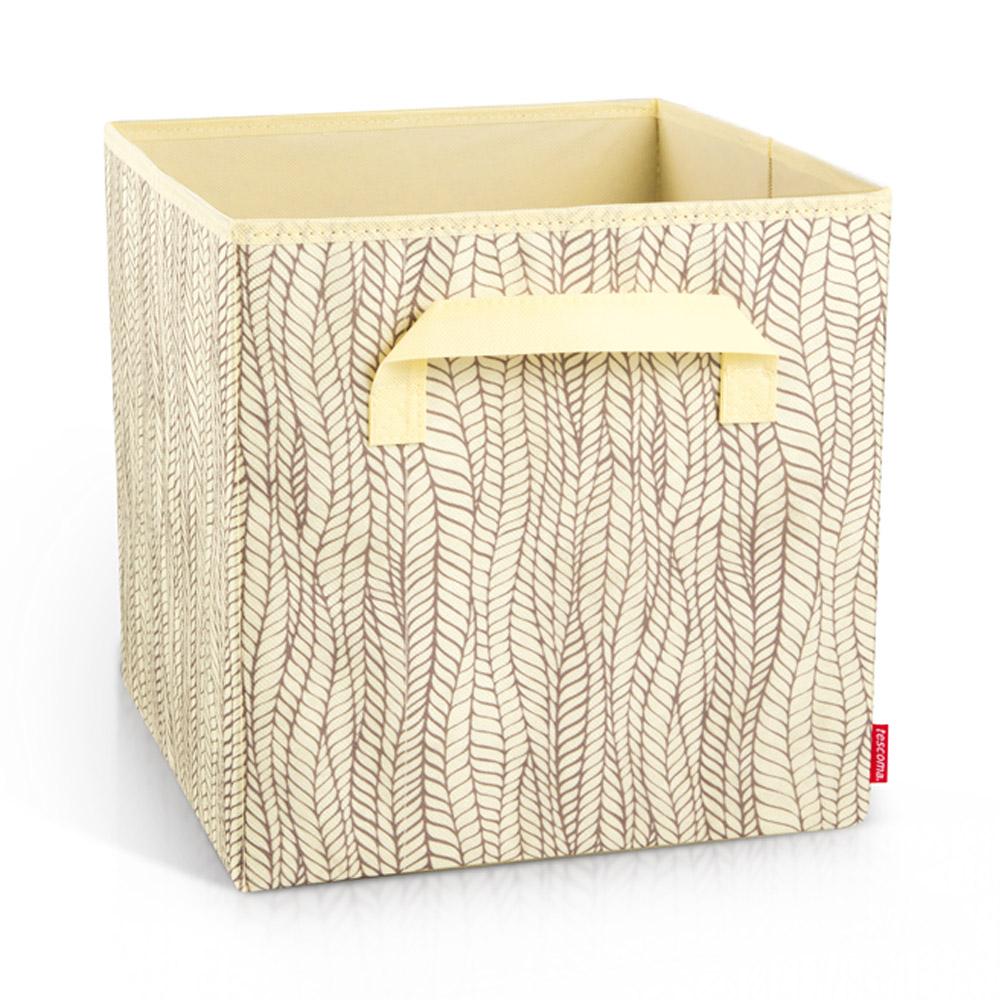 Органайзер за гардероб с дръжки Tescoma Fancy Home Cream 30x30x30cm