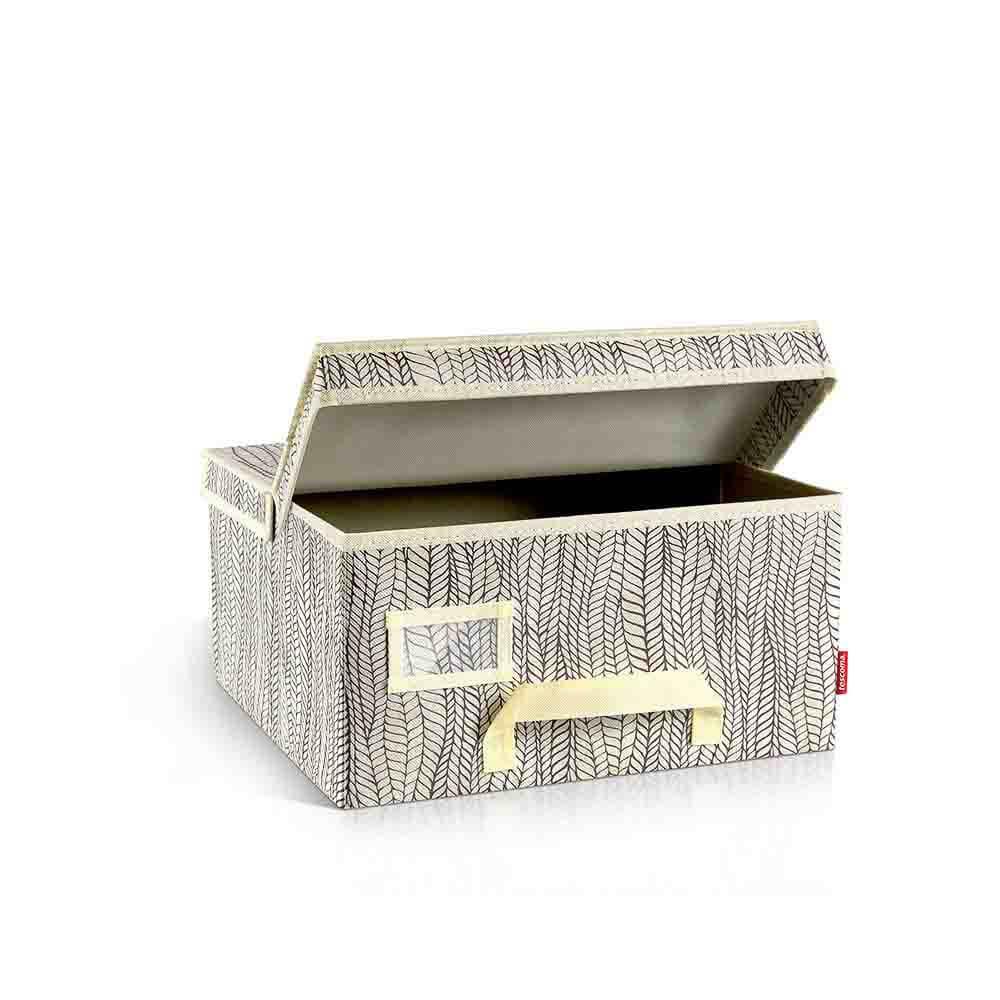 Органайзер за гардероб с капак Tescoma Fancy Home Cream 40x35x20cm