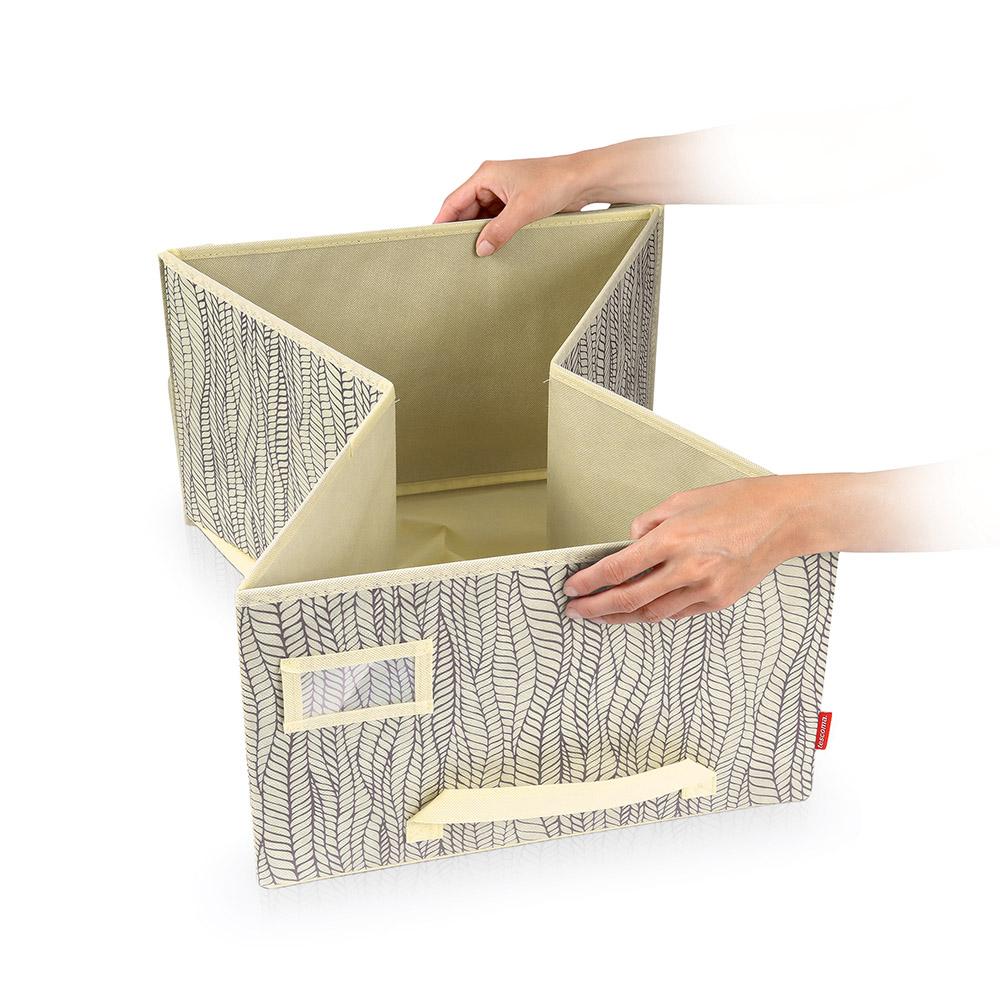 Органайзер за гардероб с капак Tescoma Fancy Home Cream 40x52x25cm