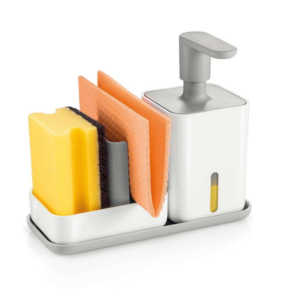 Органайзер за мивка с дозатор за течен сапун Tescoma Puro