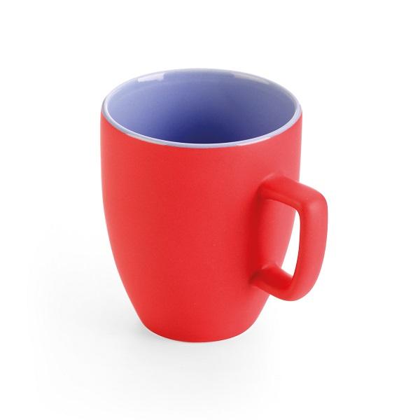 Чаша за чай Tescoma Crema 2Tone, червена, 270 ml
